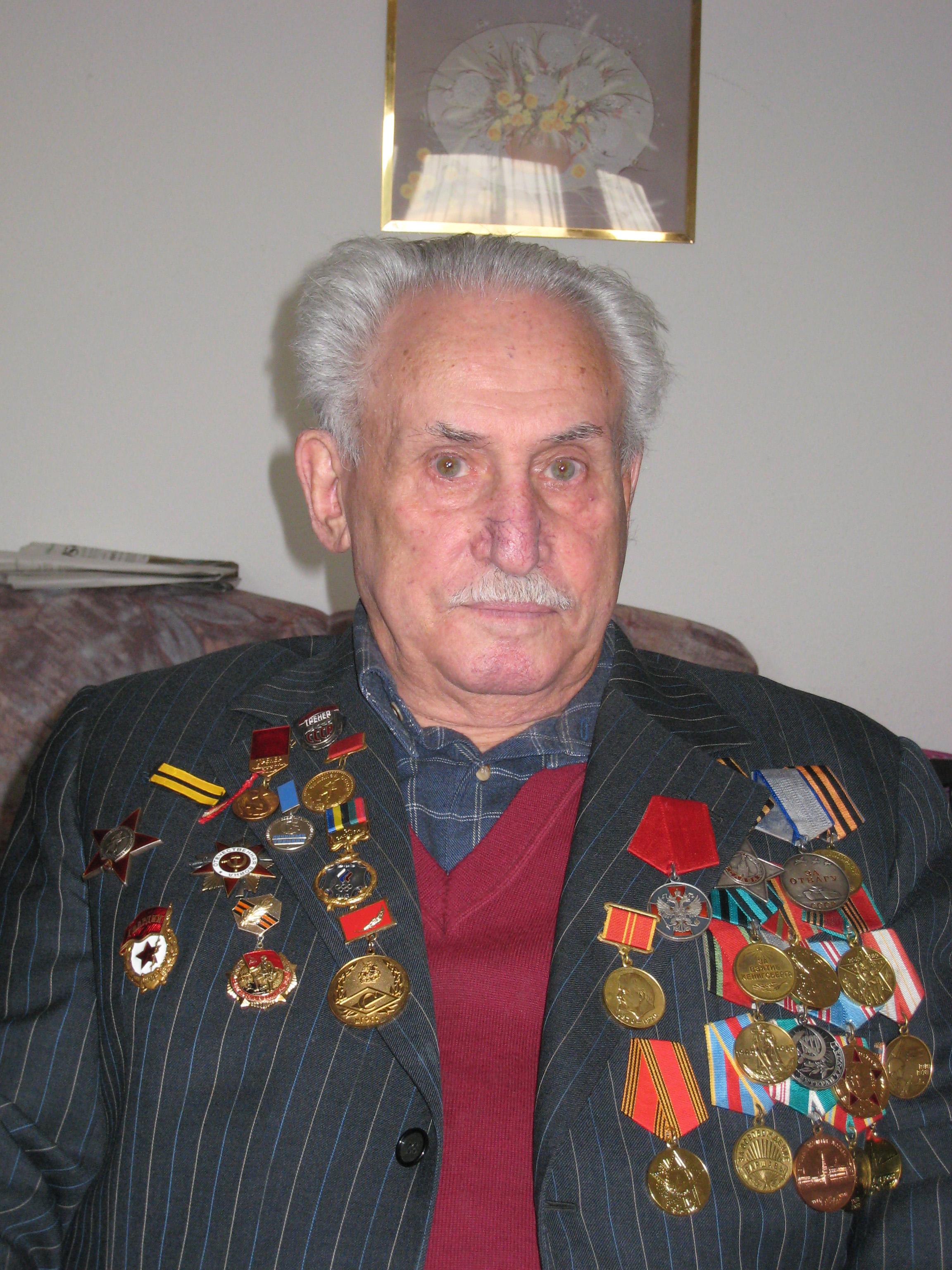Veteran David Dushman, 2006