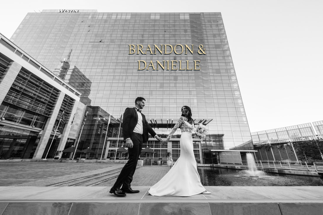Brandon & Danielle's wedding at The Westin