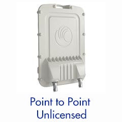 Sub 6GHz - Point to Point System —Up to 450 MB