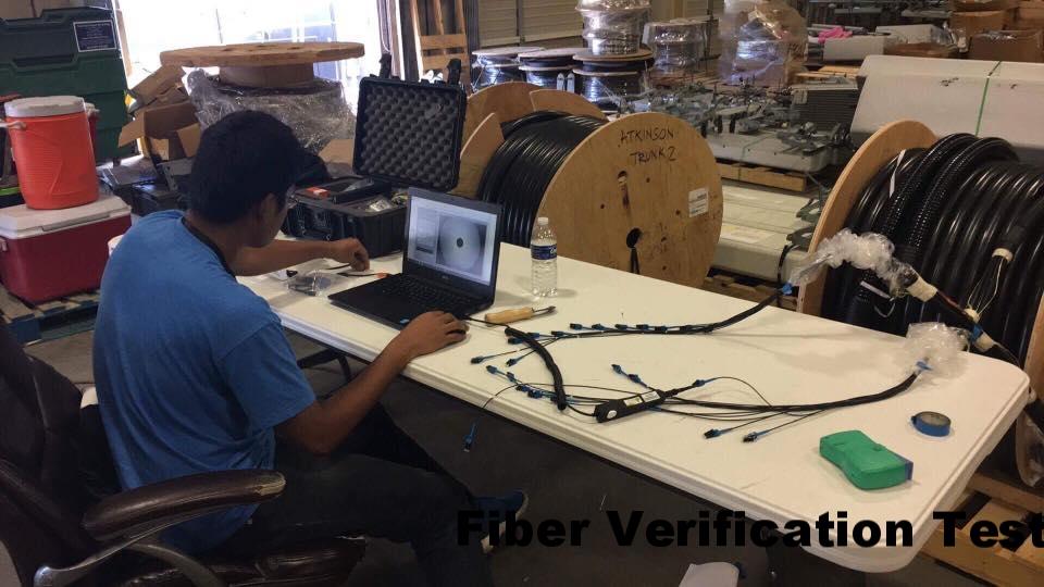 Fiber Verification Test