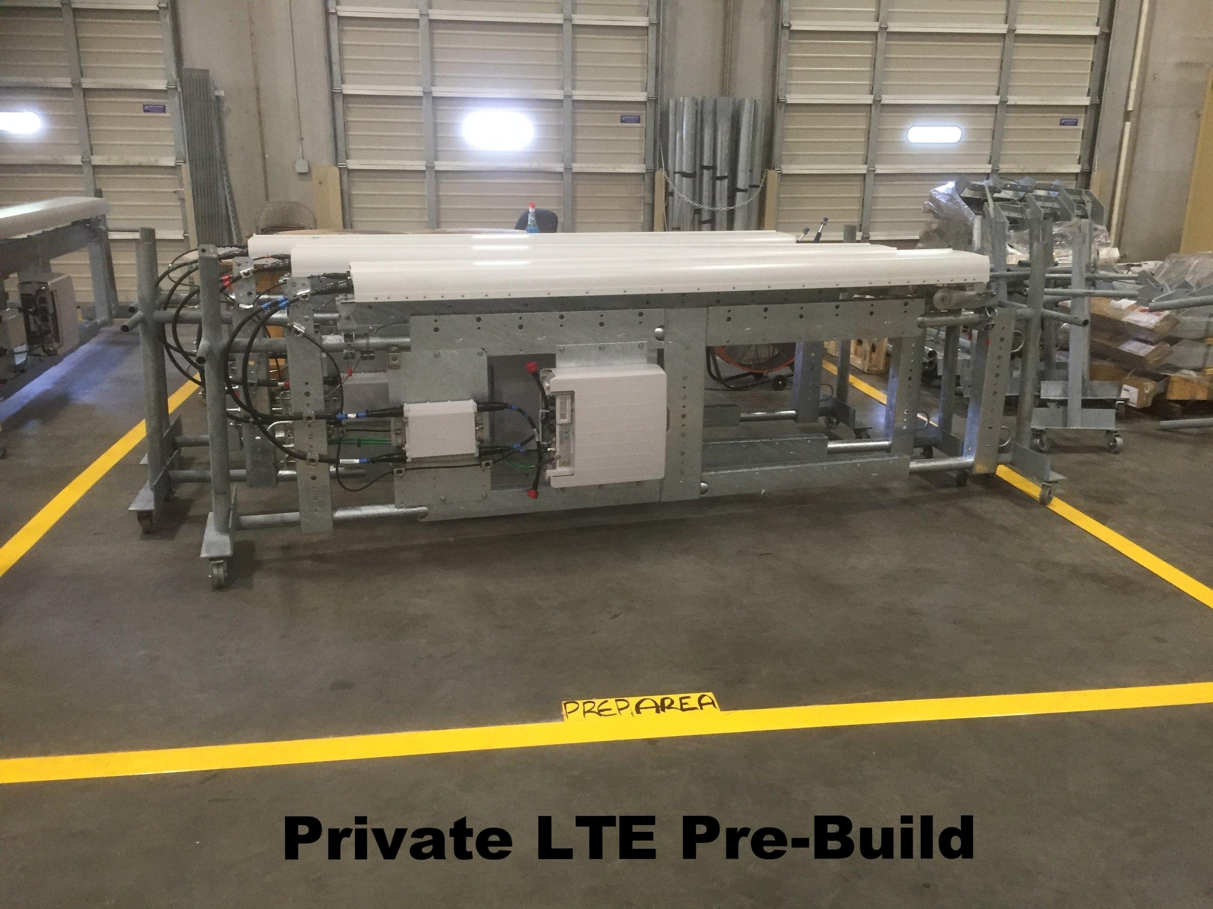 Private LTE Pre-Build