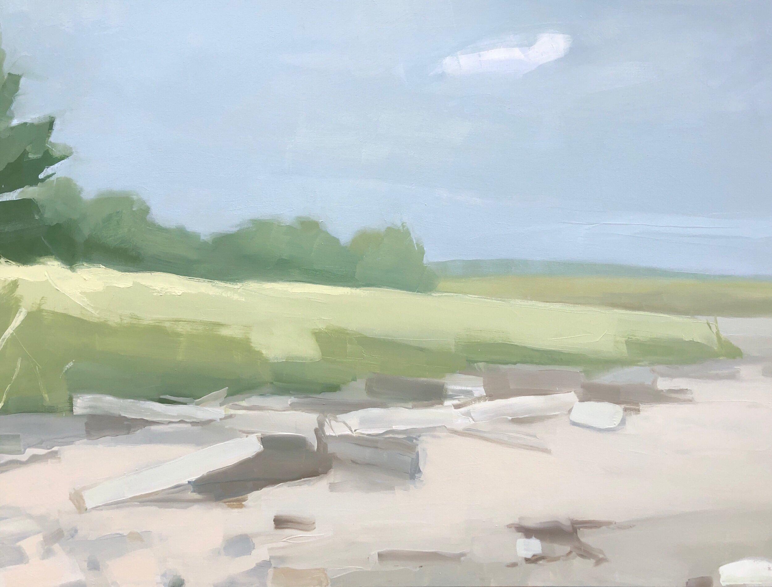Beach Near Castine