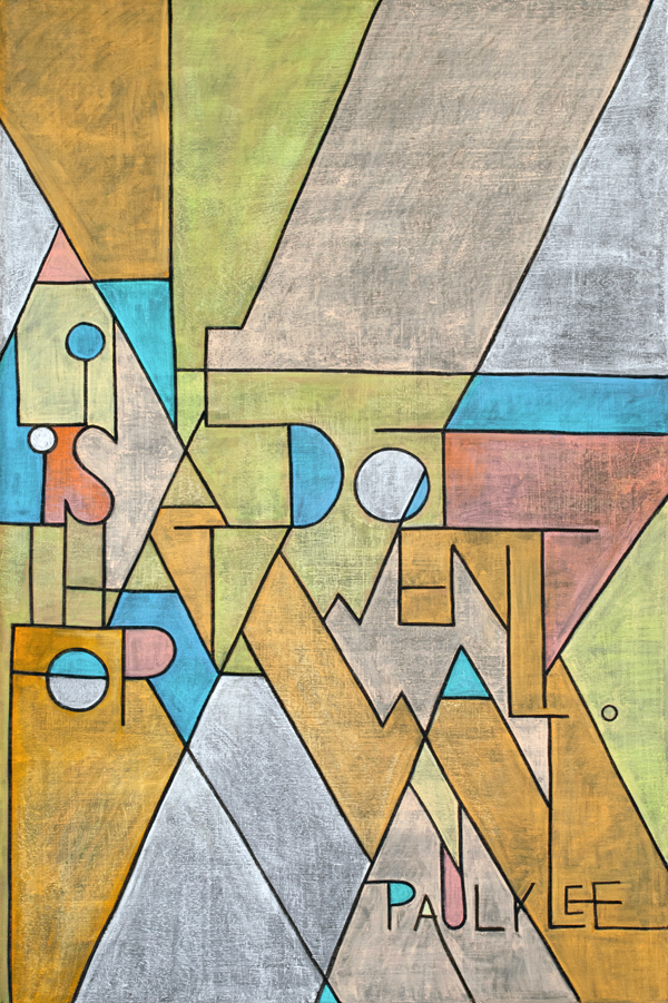 """WEEK 17 - Paul Klee """"A line is a dot that went for a walk"""""""