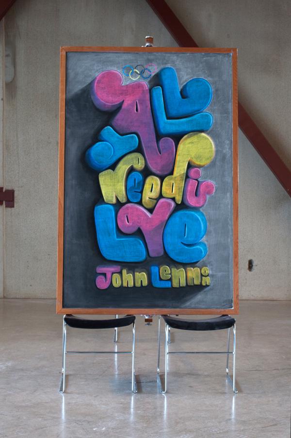 """WEEK 16 - John Lennon """"All you need is love"""""""