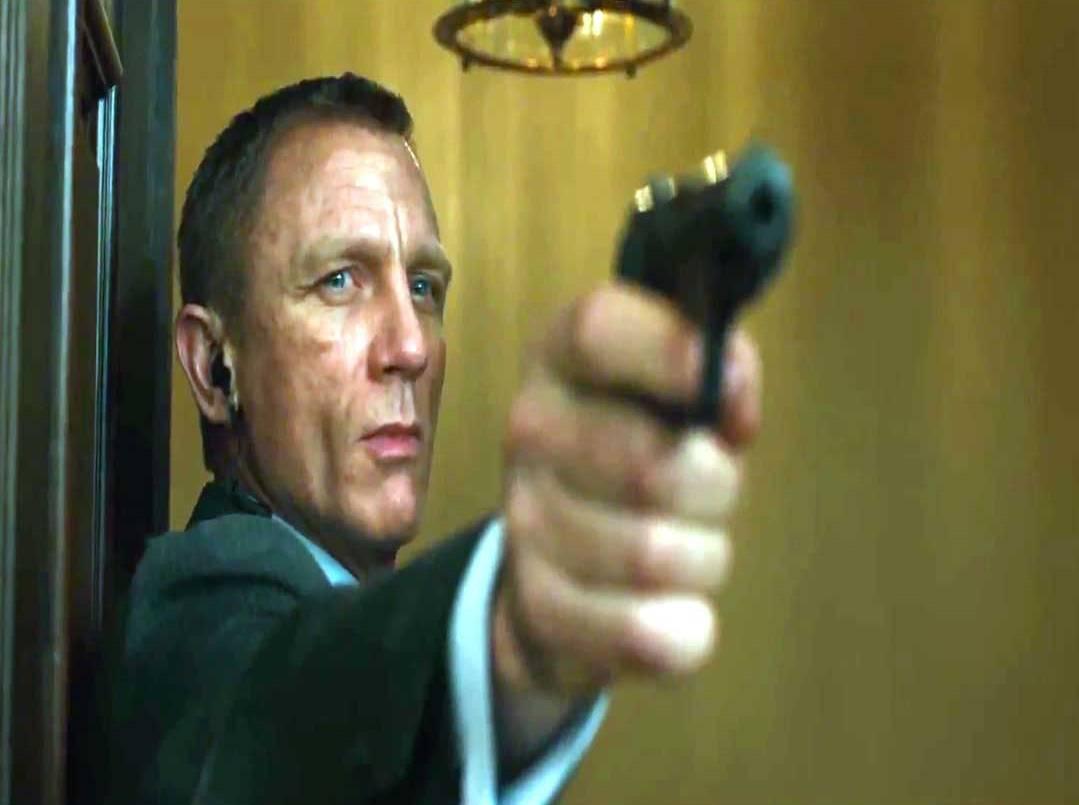 James Bond y las armas biométricas