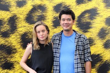 El director Destin Cretton y la actriz principal Brie Larson