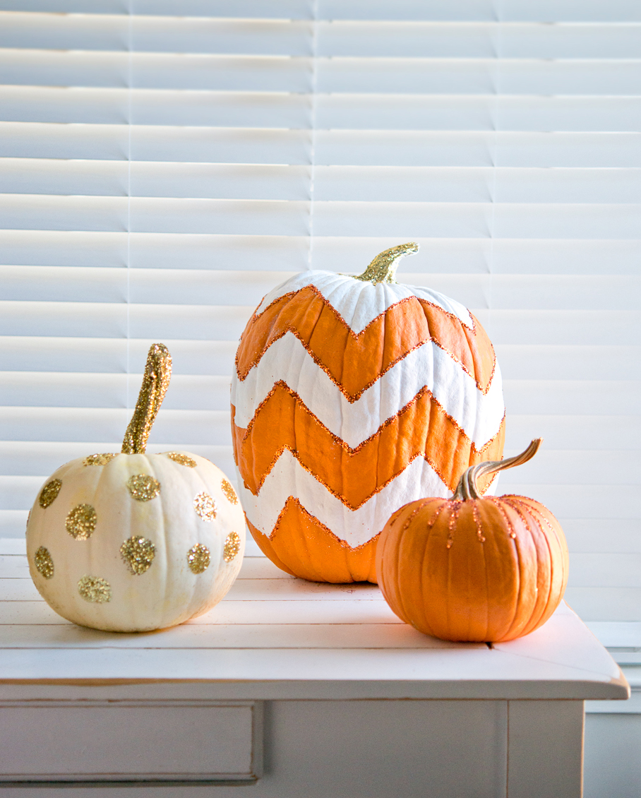 How to decorate your pumpkins non-carve