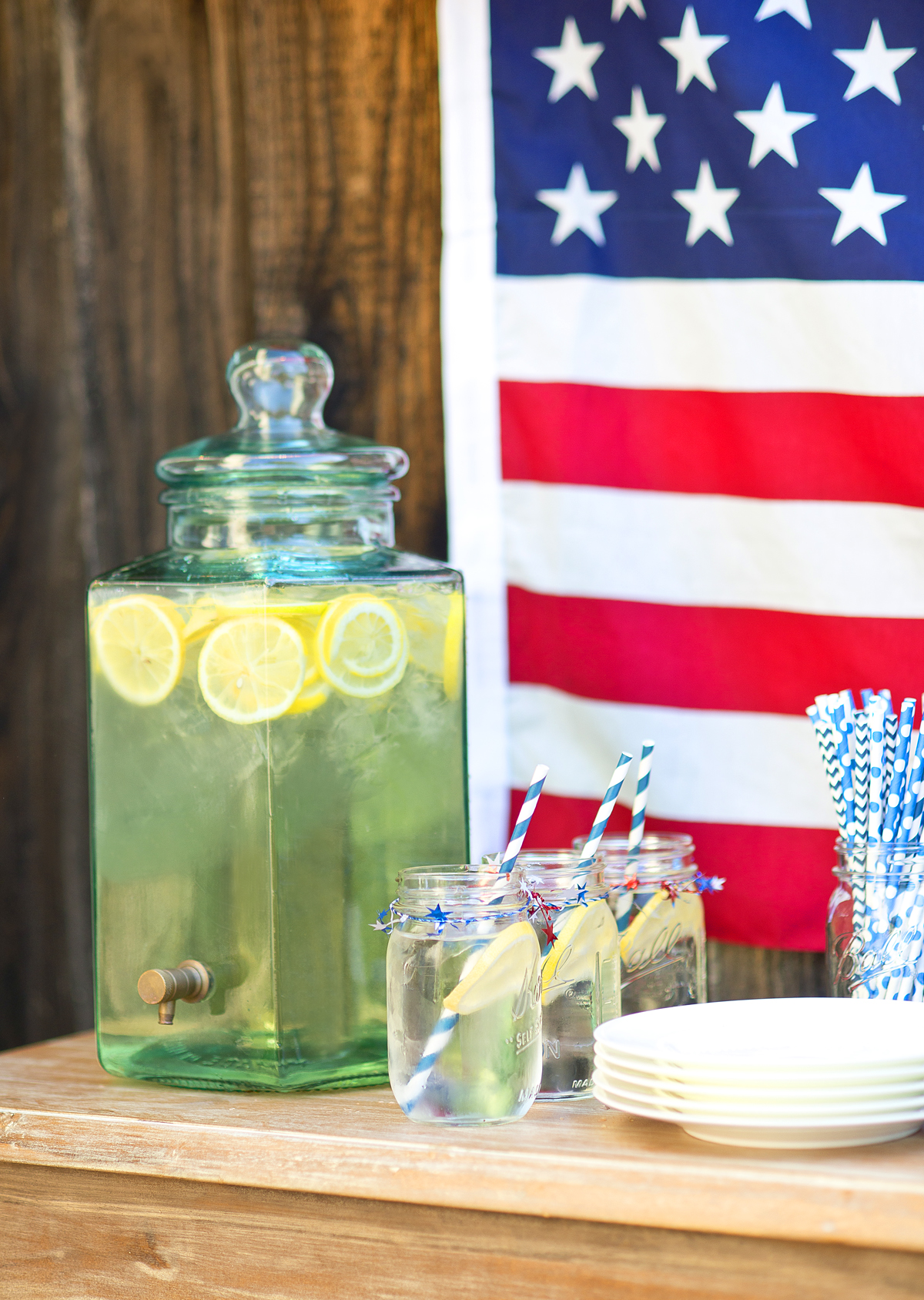 4th of July party inspiration! #4thofjulyparty #4thofjuly #july4th