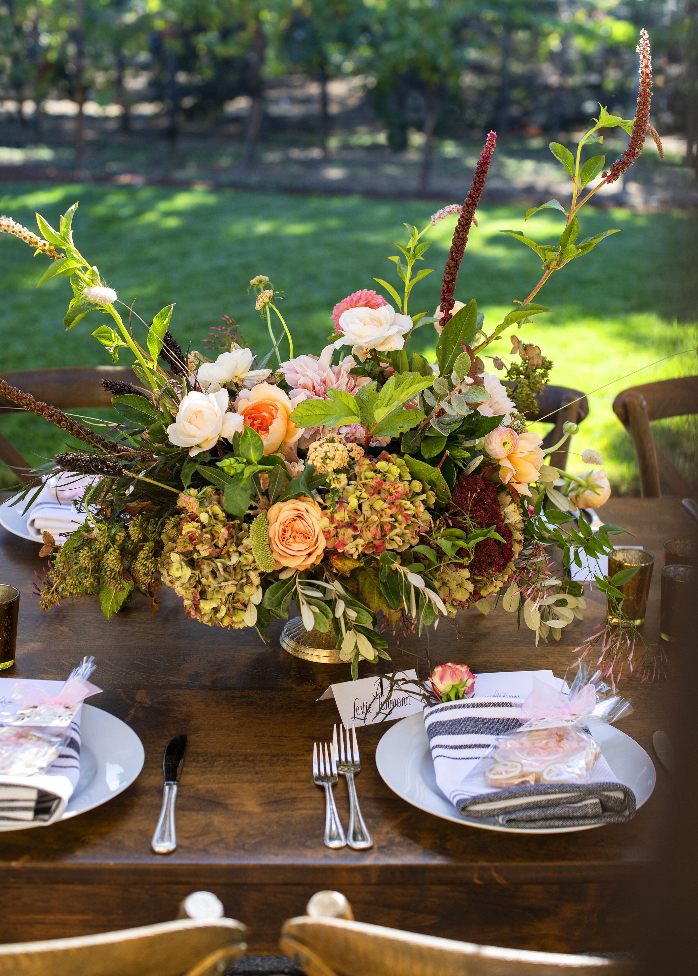 Fall Tablescape: My Splendid Living inspires a new esthetic for this fall's table setting