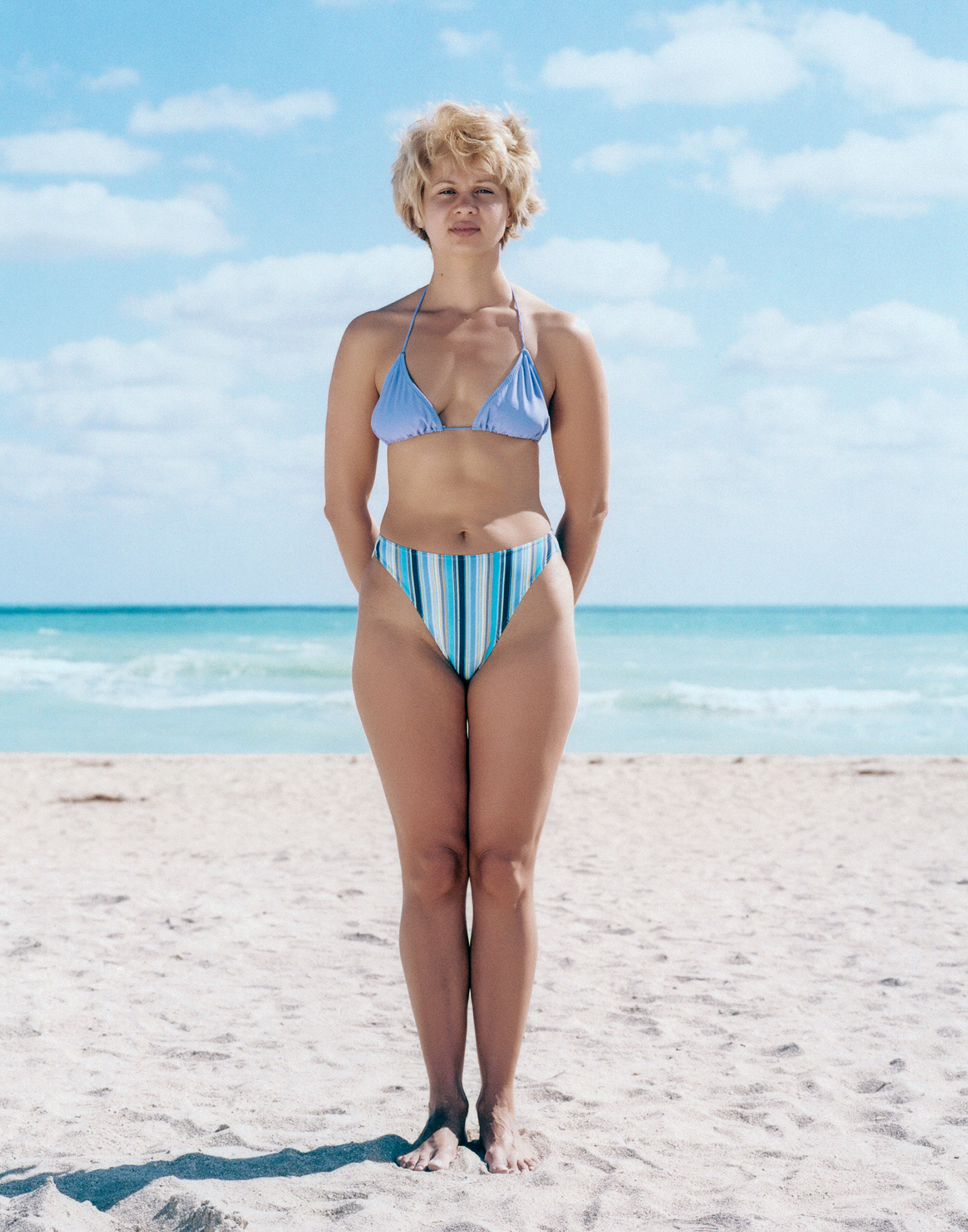 bikini bus - glamour magazine