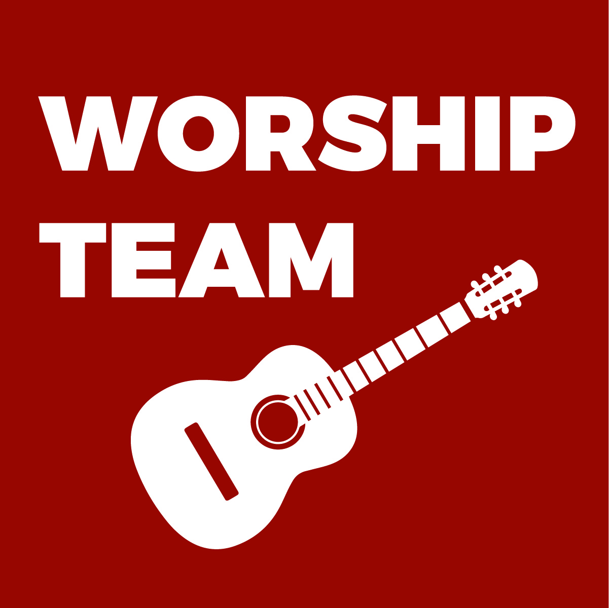 Instruments, Vocals, Worship Leading