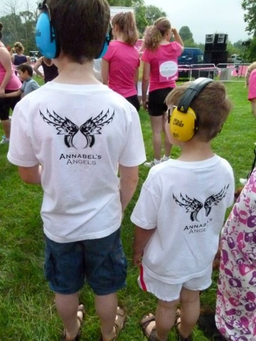 Some of our younger supporters