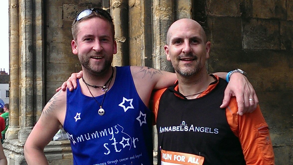 Lincoln 10k 2015 AA Simon & Mummy's Star Pete.jpg