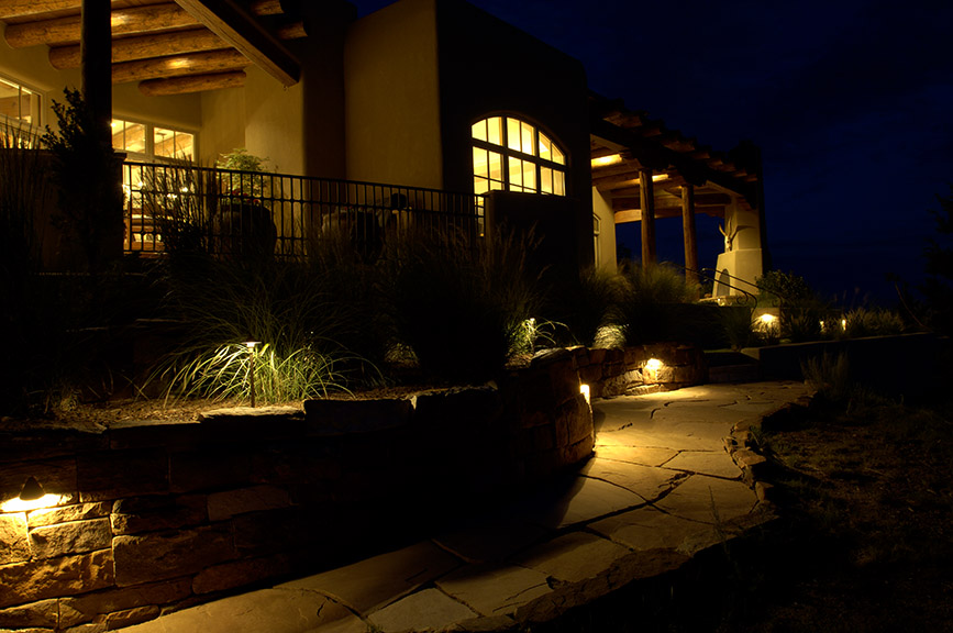 exterior home lighting design