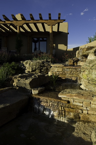 Waterfall Feature Design and Installation