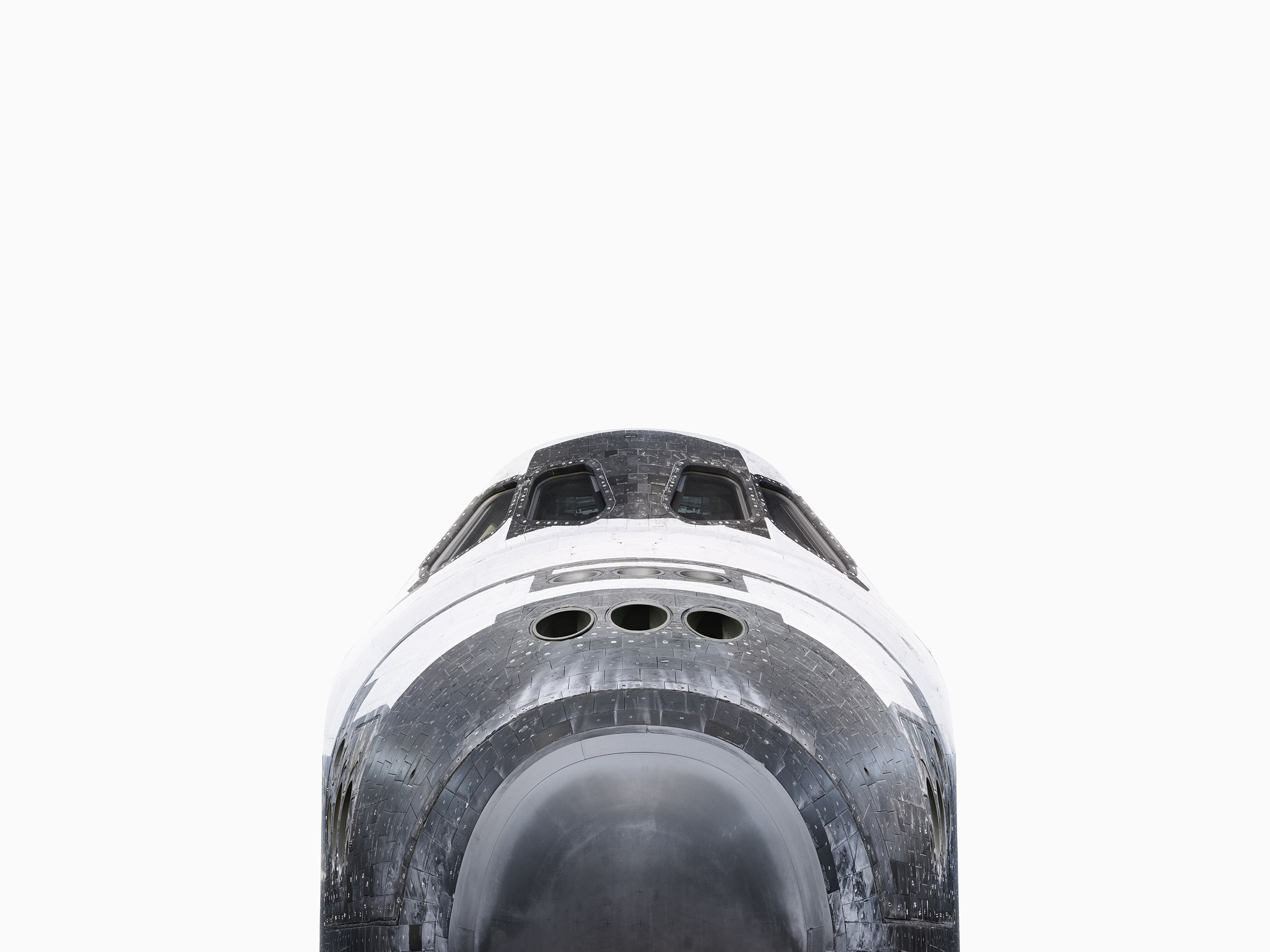 SPACE SHUTTLE DISCOVERY NOSE - Smithsonian National Air and Space Museum WASHINGTON.jpg