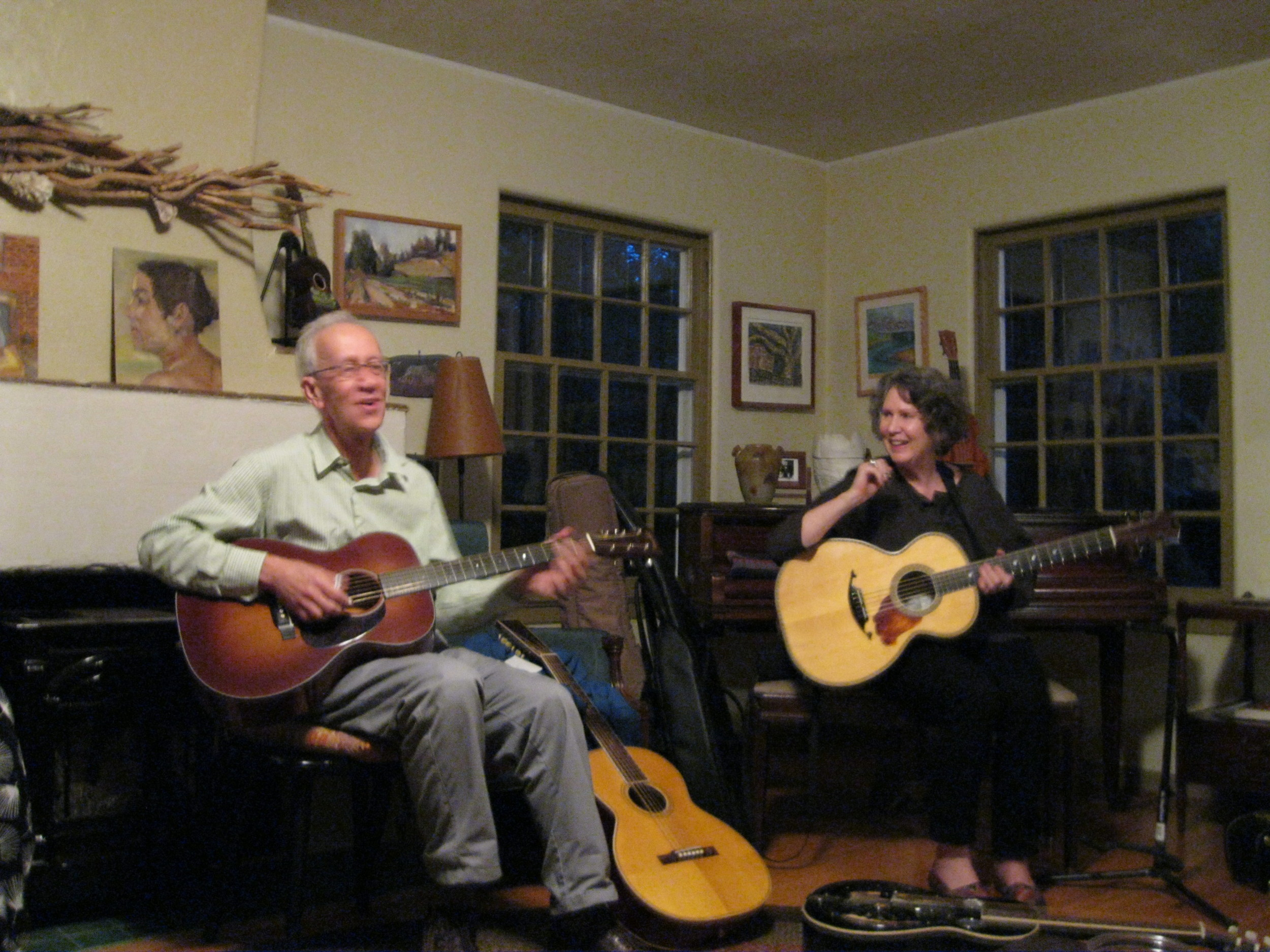 House concert with Mary Flower