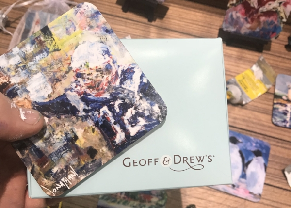 Turning Coasters into Delicious Geoff & Drew's Cookies