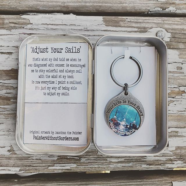 the Story Coin. Colorful. Magnetic. Interactive. Just like you... . . . #story #storyteller #tellyourstory #mystorytellers #storycoin #coin #challengecoin #art #artwork #keychain #magnetic #interchangeable #jewelry #local #handcrafted #giveback #conquercancer #hopegrowshere #staycolorful #smallbusiness #boston #massachusetts #madeintheusa #mothersonteam #family #thestorycoin
