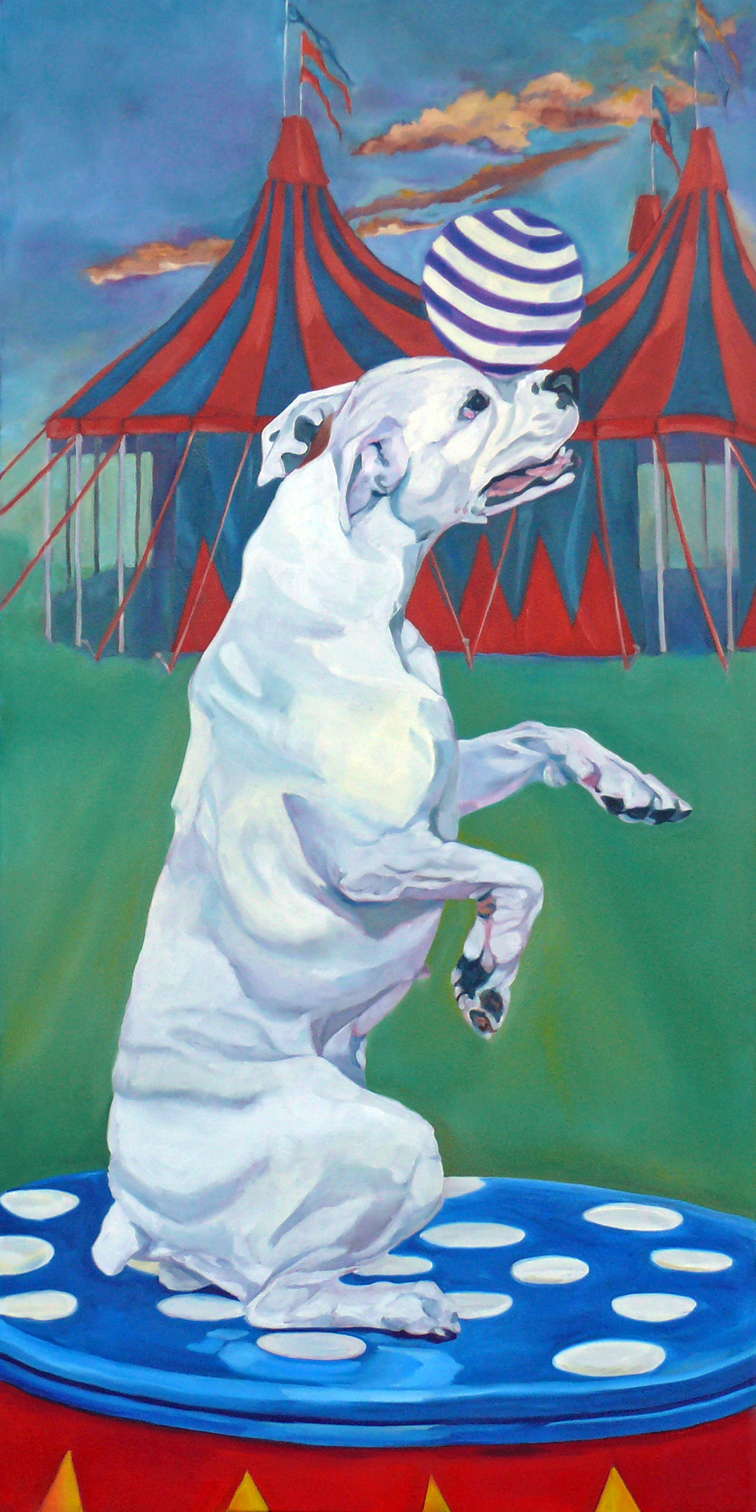 Circus Dog Evelyn McCorristin Peters 1500.jpg