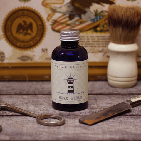 High Seas  Aftershave Remedy
