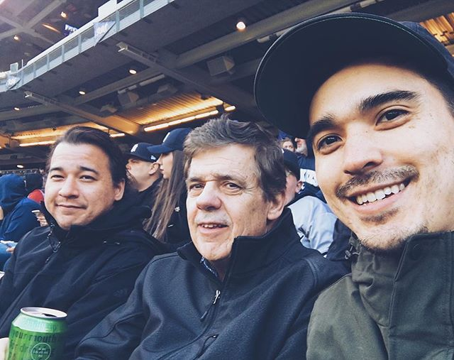 King boys celebrating my Dad's 70th at a Yankees / Red Sox game!! So stoked we finally got to see them play each other, Yanks had an insane grand slam in the 7th. Such a great experience hanging out crushing ballpark food / beers and hearing my Dad talk baseball. Happy Birthday Dad!