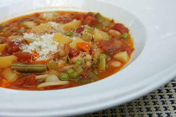 MINESTRONE sOUP -