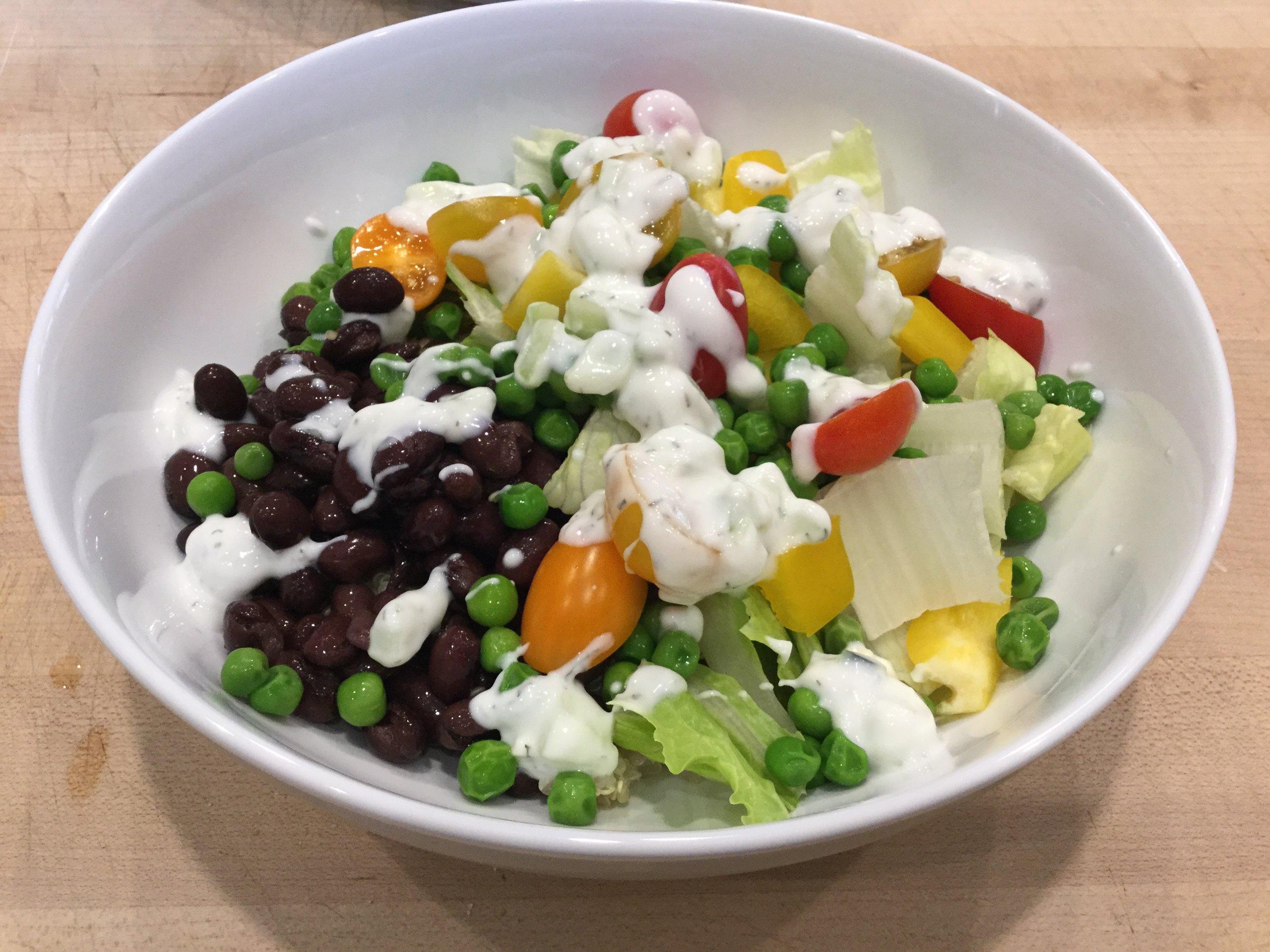 Quinoa bowl -