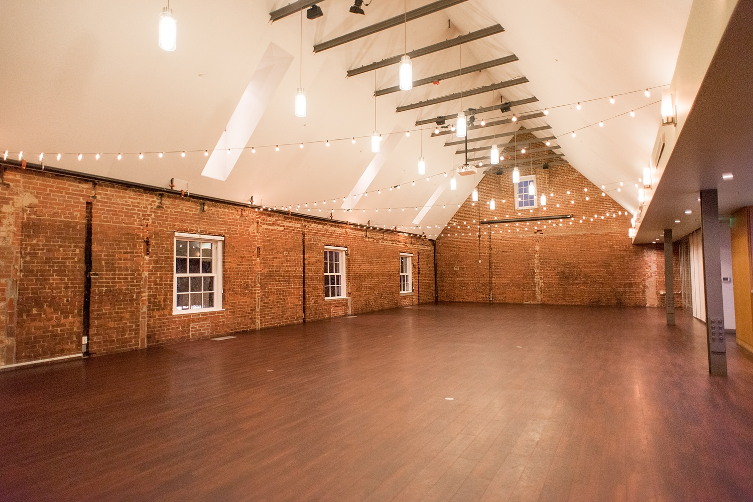 the great room - Have your own private Franklin Street celebration in the Great Room event space. We are excited to host wedding ceremonies & receptions, private dining, large parties, conferences & fundraisers, and much more!