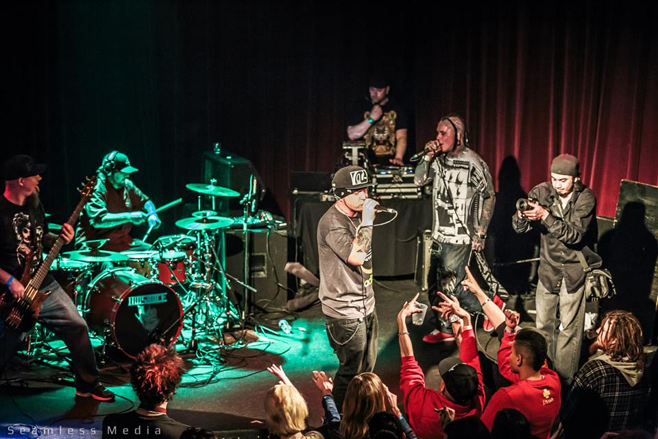 On Stage With M.O.D.- Photo Cred: Seamless Media