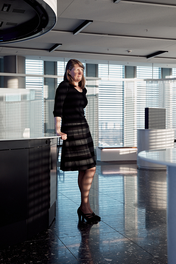 IBM head of blockchain Marie Wieck for Forbes Magazine