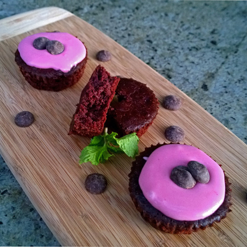 Beet Chocolate Cupcakes