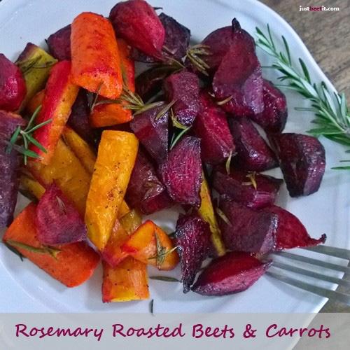 Rosemary Roasted Beets and Carrots Recipe