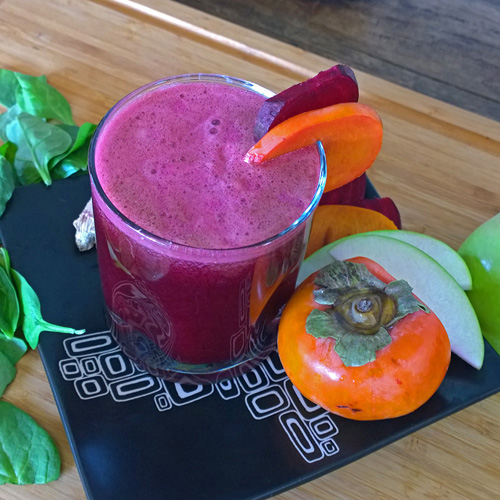 Beet Persimmon Pre-Workout Juice