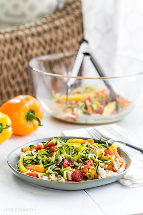 Healthy Tuna Salad Recipe  by  April Go Lightly