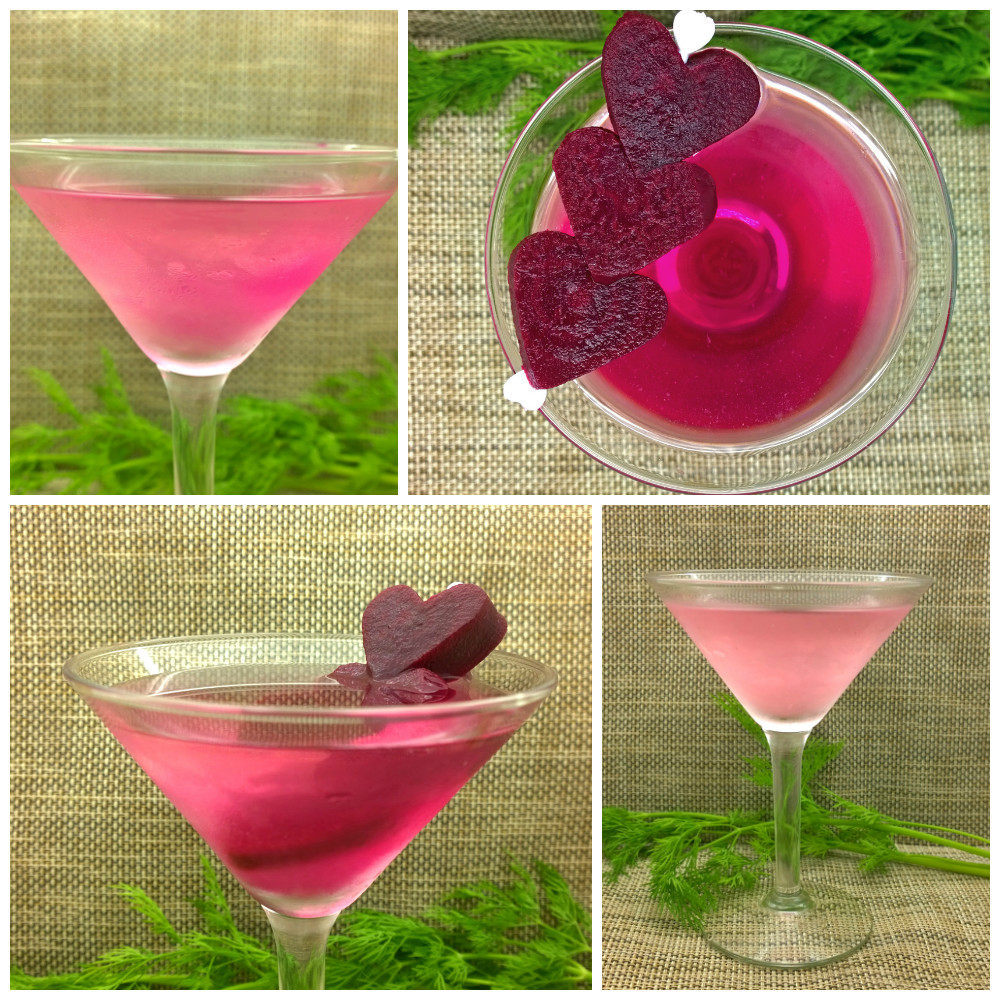 Pretty in Pink Pickled Beet Dirty Martini Collage.jpg