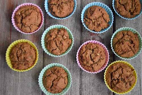 Grain Free Zucchini Muffins  by  Real Food RN