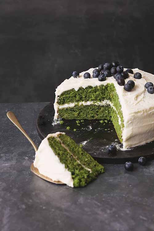 Apple Kale Cake with Apple Icing  by  Veggie Desserts