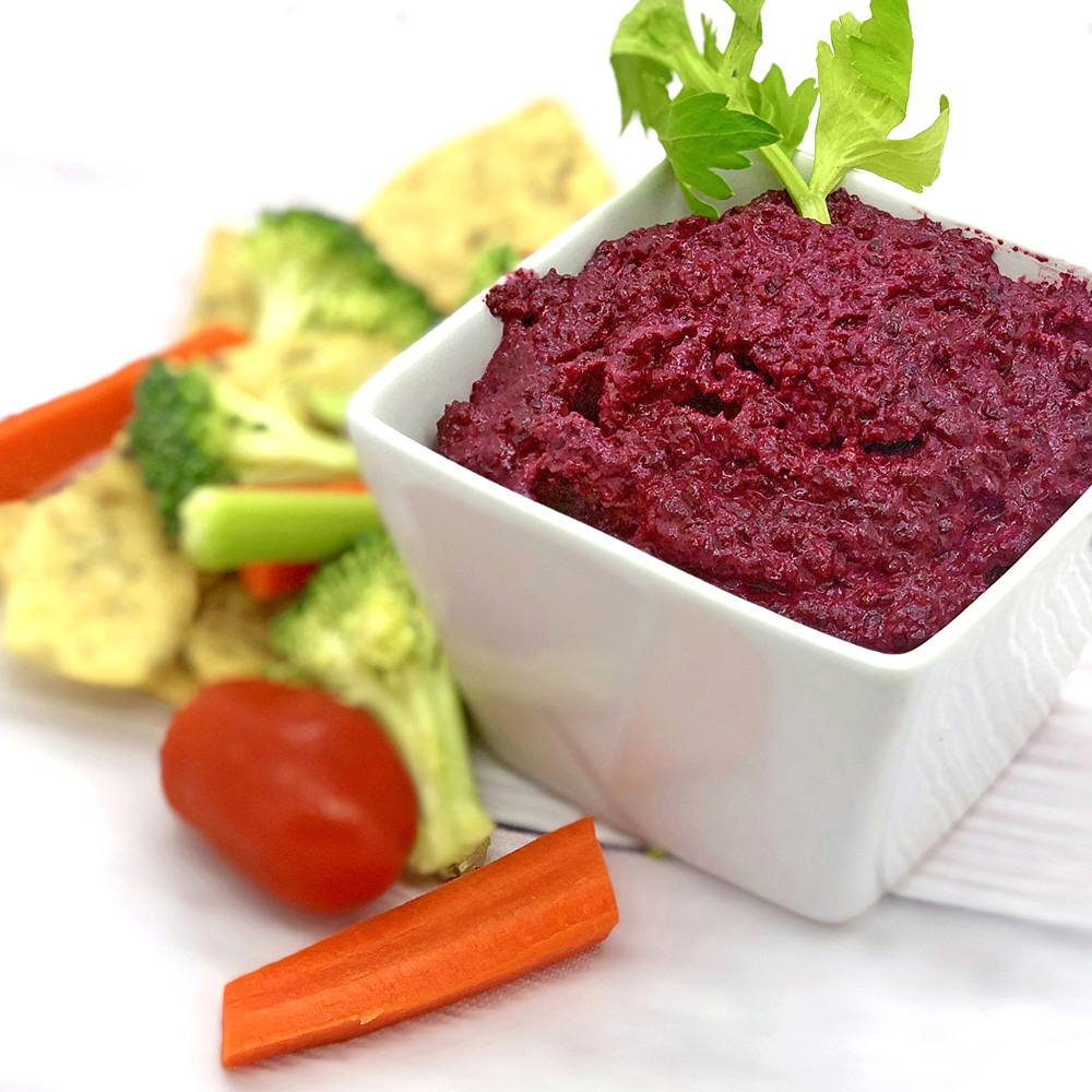 beet walnut dip with veggies and GF chips square.jpg