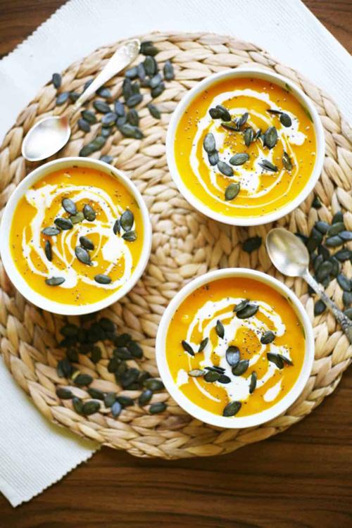 Simple Hokkaido Pumpkin Soup  by  My Pure Plants