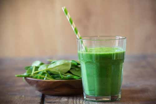 "Super Kid Friendly Banana Green Smoothie  by  Blender Babes   Yes this smoothie screams ""healthy"" with its vibrant green color, but it's a green smoothie recipe that you AND your children will love!"