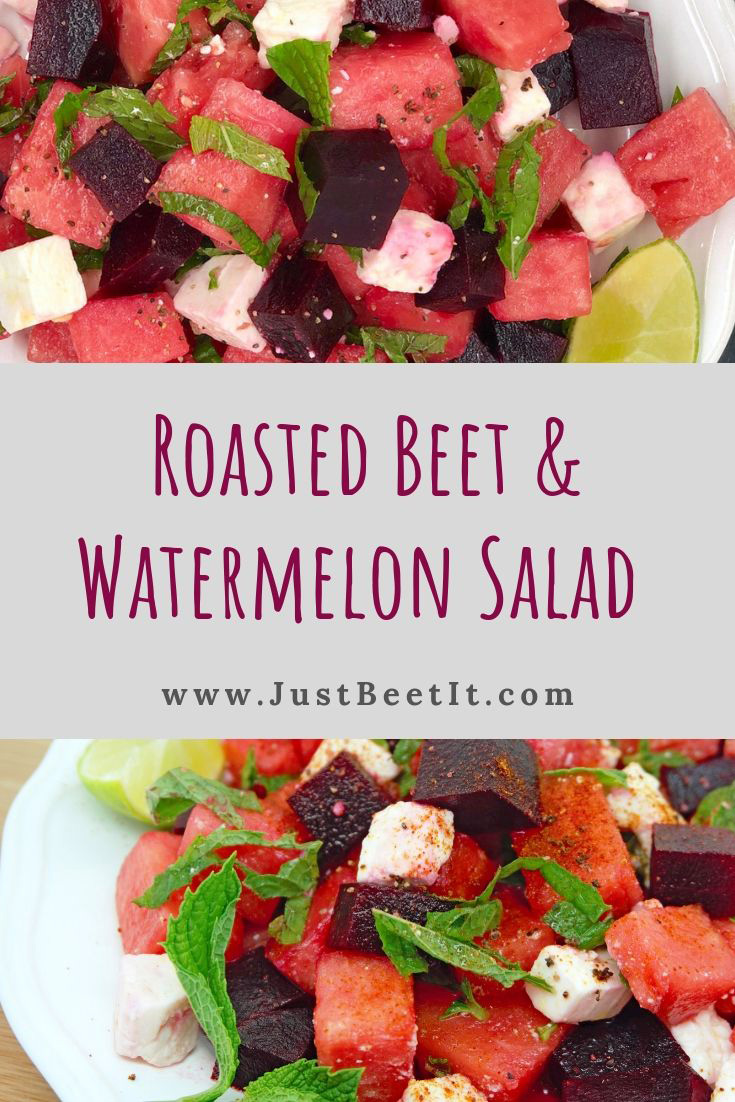 roasted beets and watermelon salad with mint and feta and lime.jpg