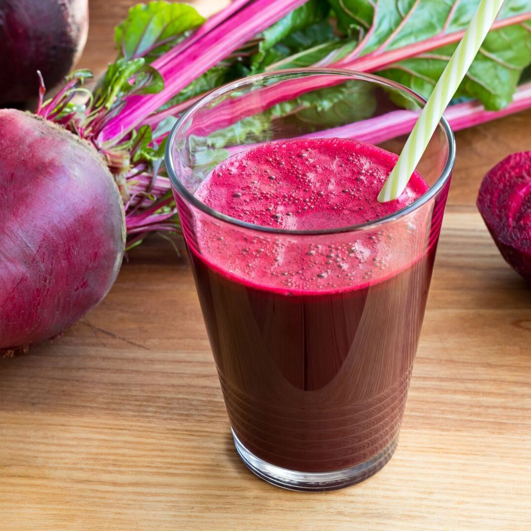 Beet juice as a natural remedy for acne and acne scars