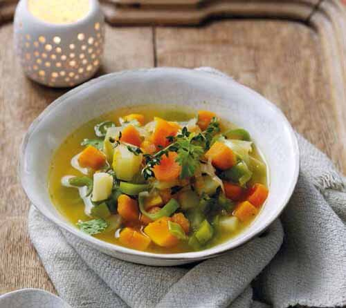 Autumnal Root Vegetable Soup  by  Attachment Mummy