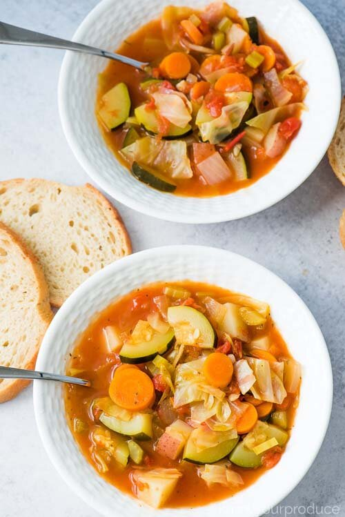Vegetarian Cabbage Soup  by  Know Your Produce