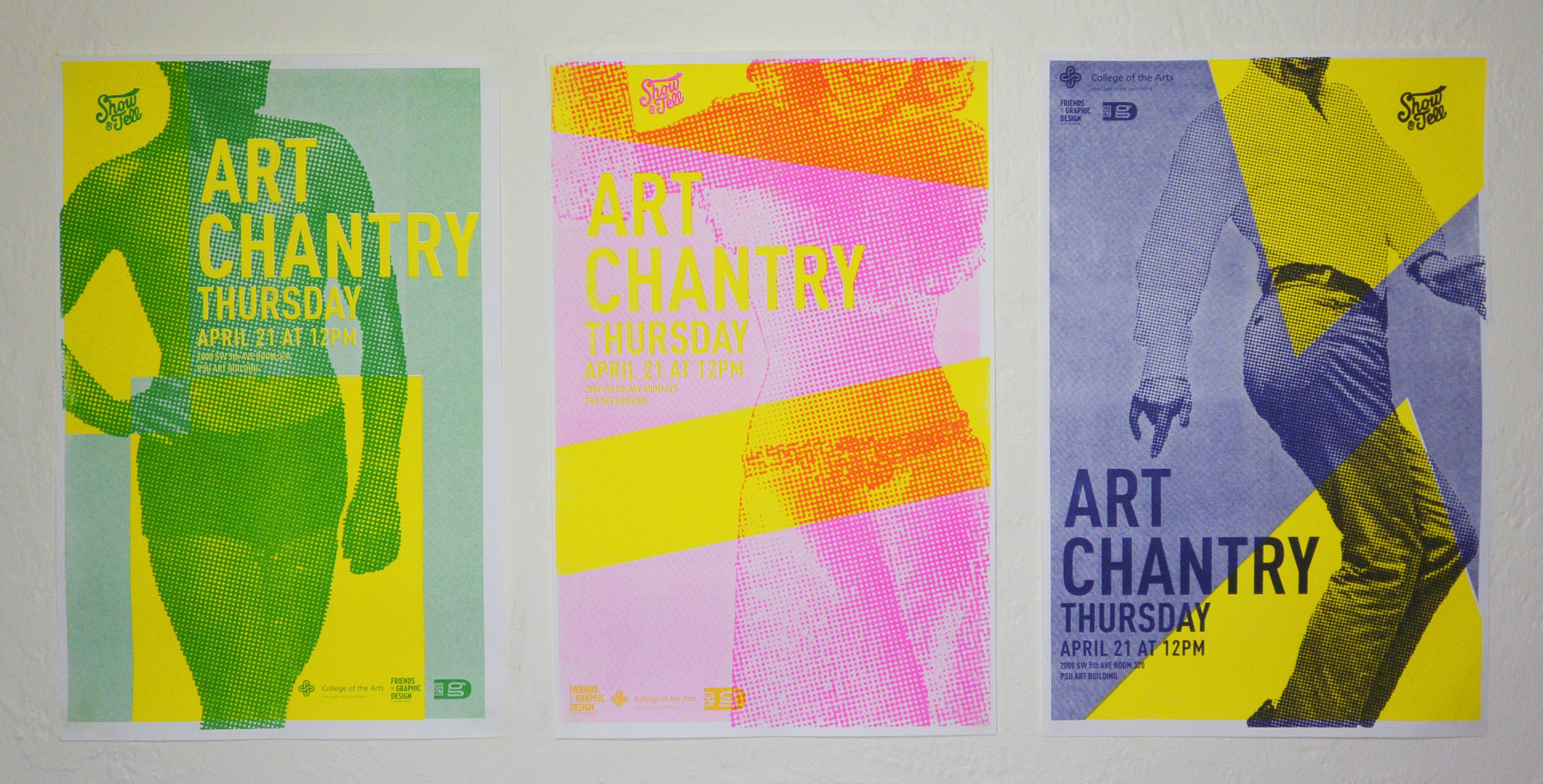 Art Chantry Promotional Series