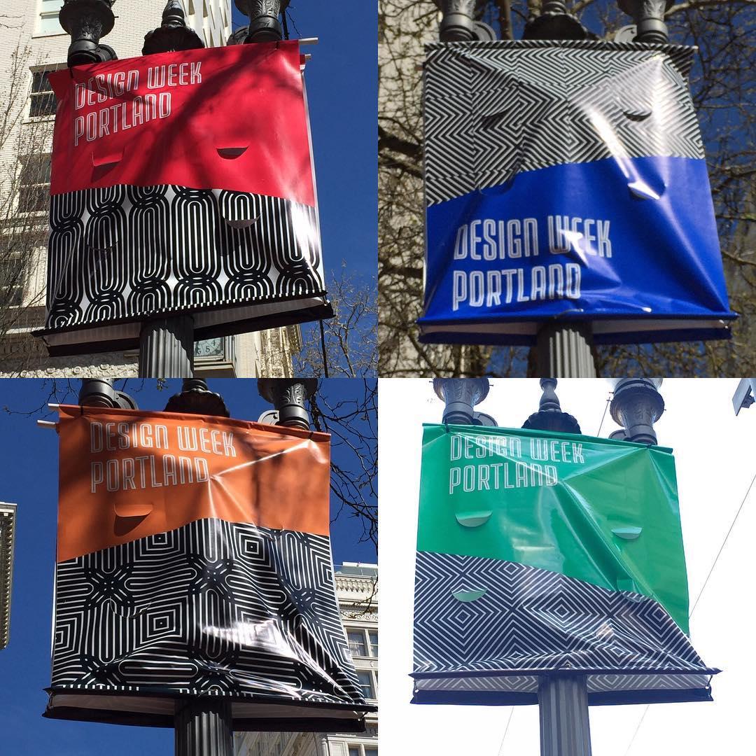Design Week Portland Banners