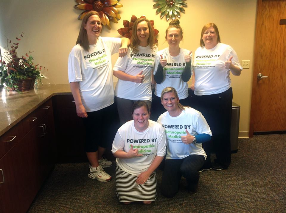 The Integrative Therapeutics team celebrating in Green Bay