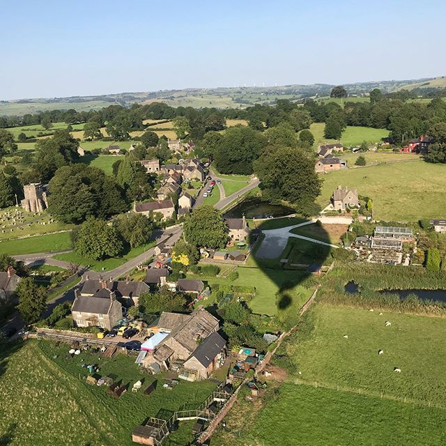 Had the most amazing balloon flight from Tissington this evening, thank you to pilot Mike we loved it x #virginballoonflights🎈 #virginballoonflights  #tissington