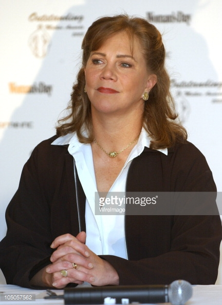 """What a """"film noir"""" face might look like. I see glimpses of our Christine in this face, but more extreme in it's Yang and of course worn by a much larger woman.Photo by Dimitrios Kambouris/WireImage / Getty Images"""